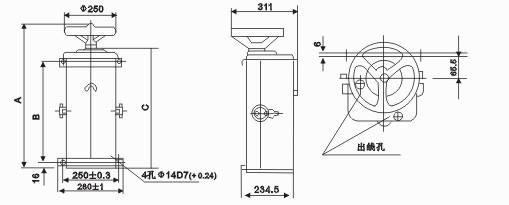 ktj1-80/5交流凸轮控制器低价销售(上海永上控制器厂)